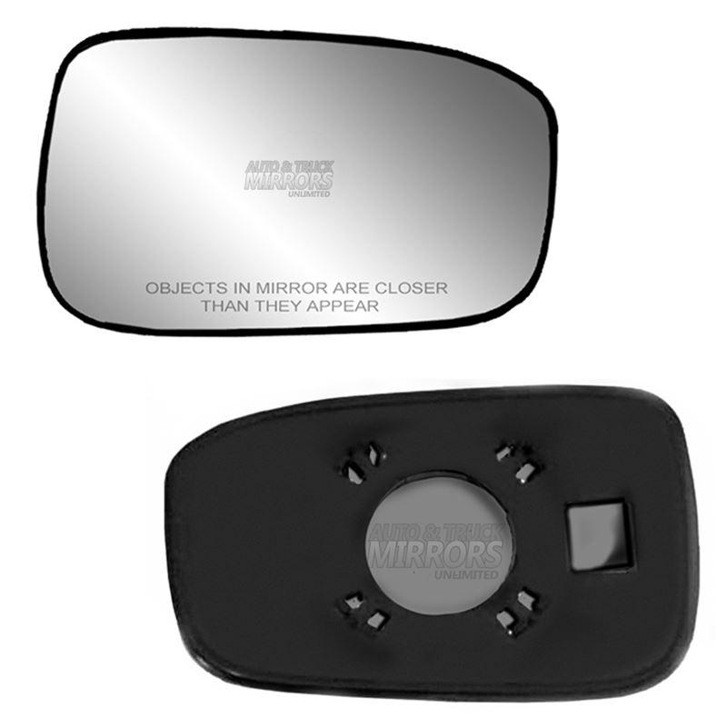 NEW Mirror Glass ADHESIVE 03-07 HONDA ACCORD SEDAN Driver Side USA BUILT