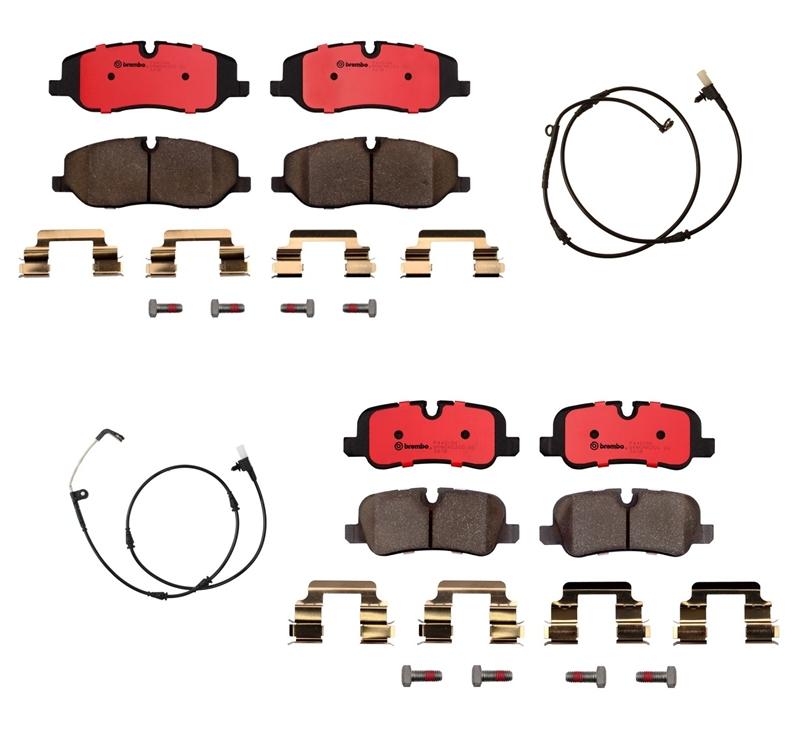 For Land Rover Range Rover Rear Ceramic Disc Brake Pad Set with Sensor Brembo