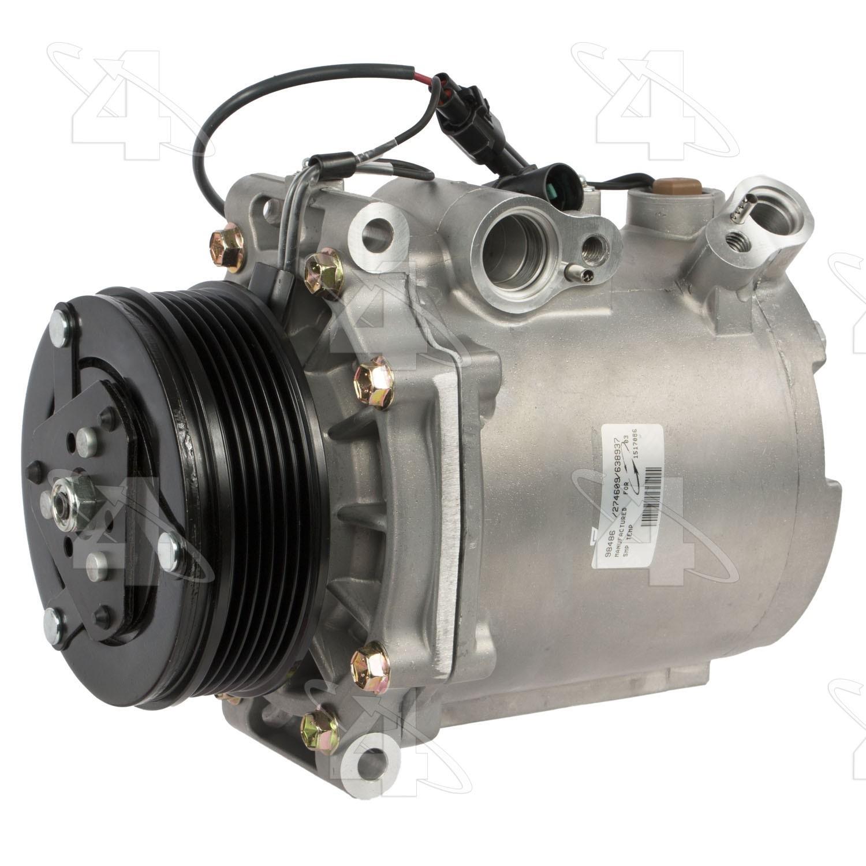 Brand New A//C AC Compressor /& Clutch fits Mitsubishi Lancer /& Outlander