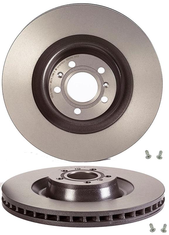 Brembo Front Brake Kit Low Met Pads Disc Rotors For Audi A8 Quattro VW Phaeton